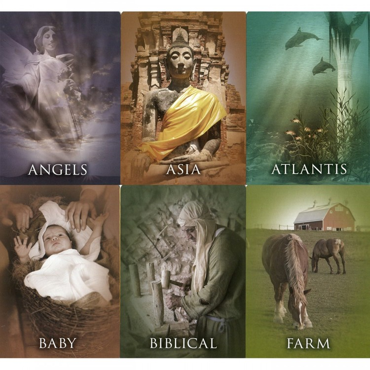 Past Life Oracle Cards: A 44-Card Deck and Guidebook  av Doreen Virtue, Brian L. Weiss