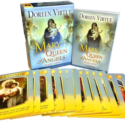 Mary Queen of Angels oracle Cards by Doreen Virtue