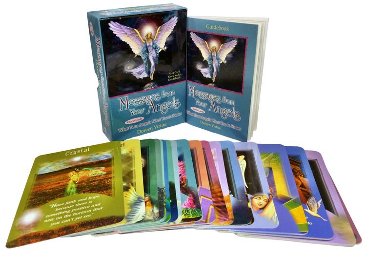 Messages from your angels oracle cards by Doreen Virtue