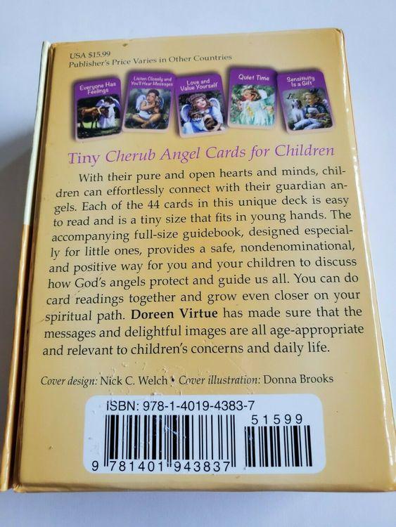 Cherub Angel Cards for Children 9781401943837 av Doreen Virtue