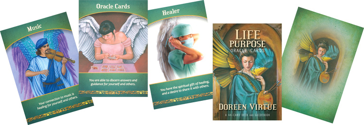 Life Purpose Oracle Cards av Doreen Virtue