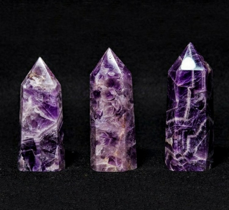 Amethyst Crystal Obelisk 500 - 600 gram