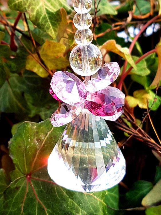 Solfångare med kristallkjol