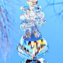 Kristall ängel solfångare lyx
