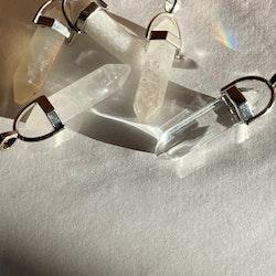 Pendel hänge i Bergs kristall