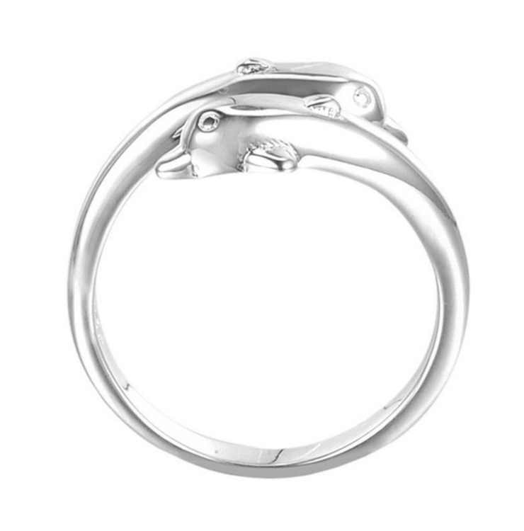 Delfin ring 925 sterling silver