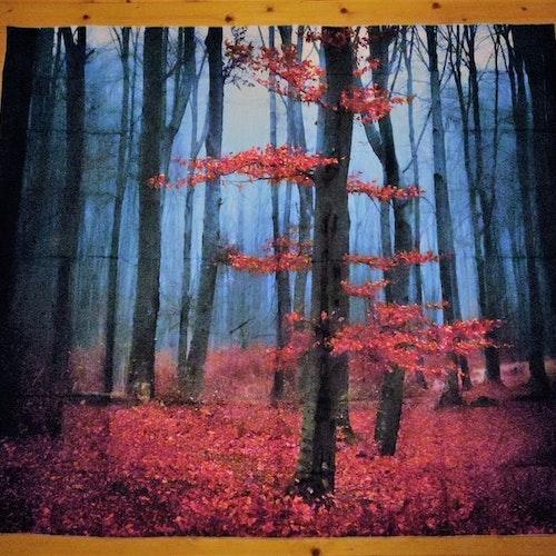 Höstskog tarot bordsduk väggdekoration