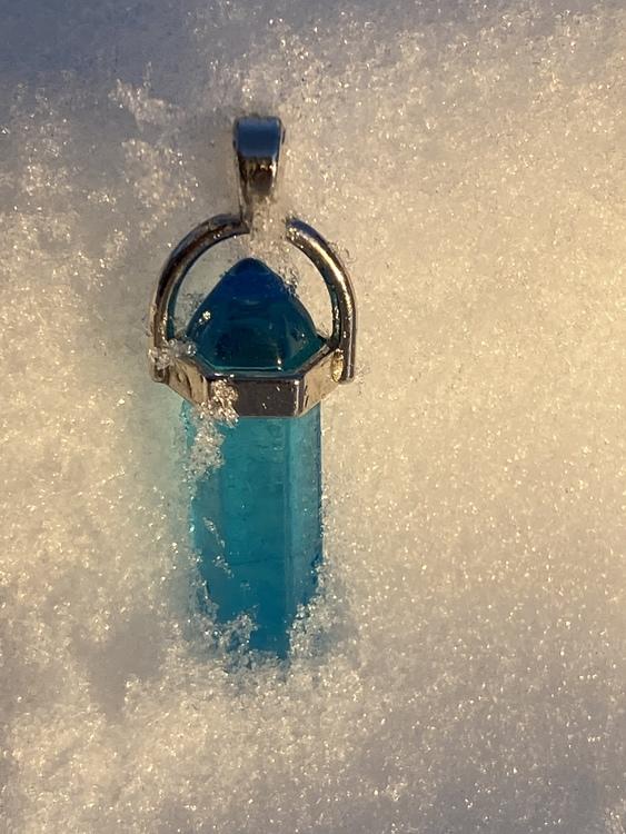 Pendel hänge i Glas (Handgjord)