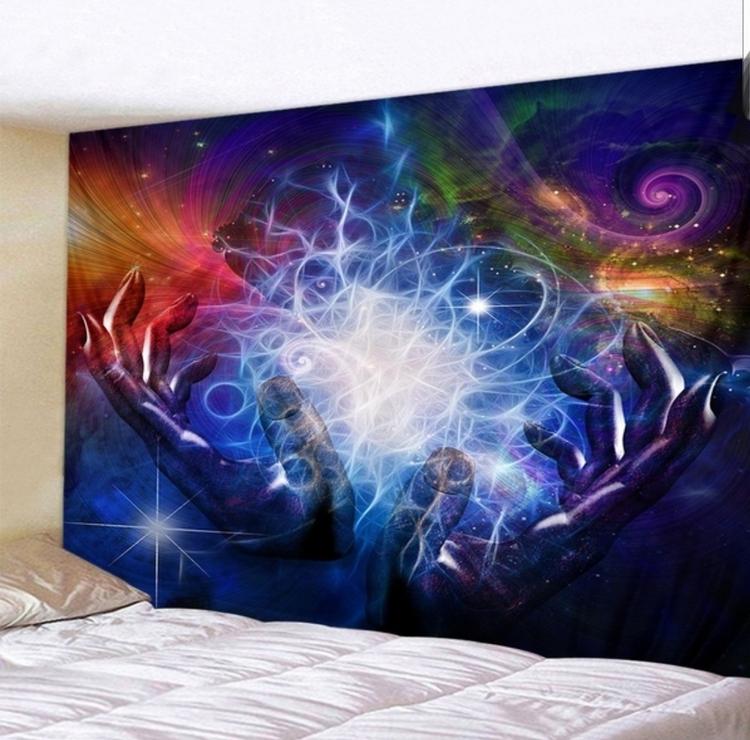 Magiska händer tarot bordsduk väggdekoration