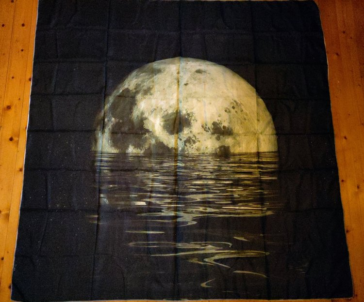 Fullmåne tarot bordsduk väggdekoration
