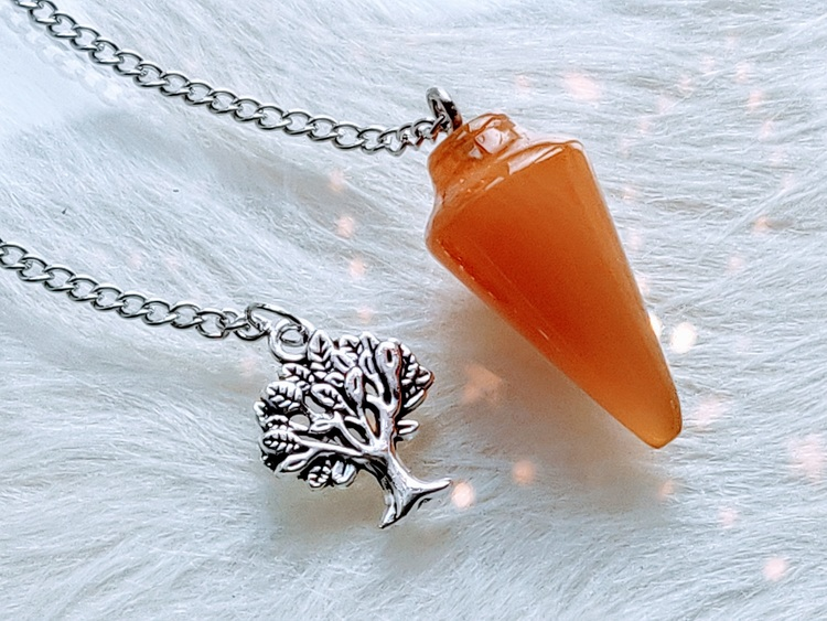 Pendel orange onyx agat