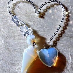 Pendel med hjärta, Handgjord och helt unik