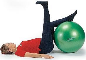 Fitboll/pilatesboll 65 cm