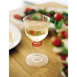Glas med kraftig fot för bra grepp, Tasty
