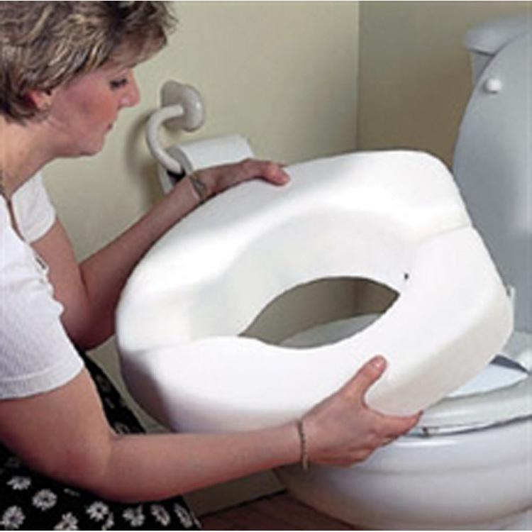 Toalettförhöjare, att ta med sig