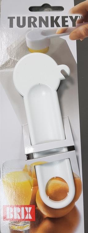 Turnkey - öppnar mjölkförpackningarna lätt