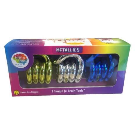 Tangle Jr Metall 3-pack
