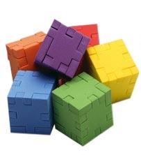 3D pussel - 3 olika