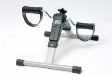 Pedaltränare med display