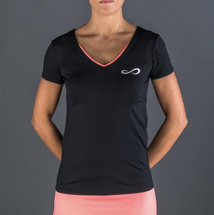T-shirt victory black Coral
