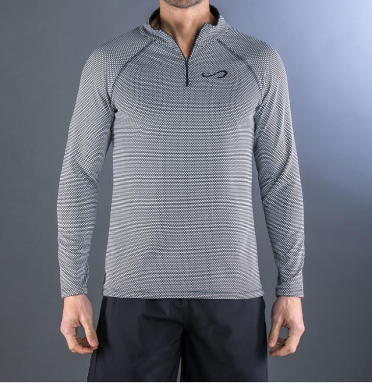Långärmad Epic tröja black/white