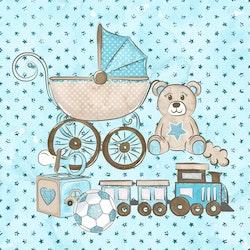 BABY-13   Baby blå