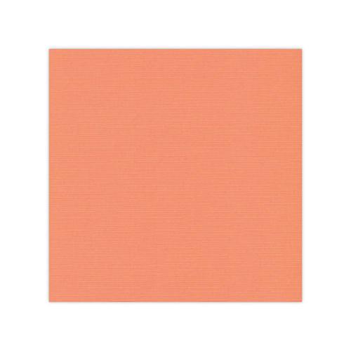582010 -10 stCardstock Linnestruktur Ljus orange