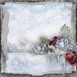 2020-03 Lazerdesign Julpapper 14,5x14,5 cm