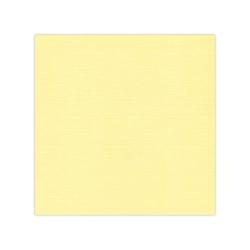582003-10 Cardstock Linnestruktur Ljus gul