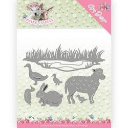 Kopia ADD10167DIES  Spring Animals