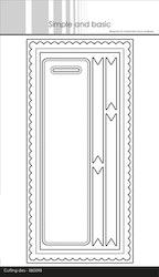 SBD147DIES Simple and Basic mini Slimcard