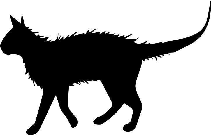 513-gummistämpel stor katt