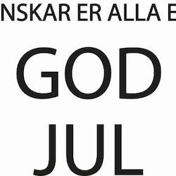 2418 - önskar er alla en GOD JUL