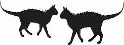 1308 - 2 st små Katter