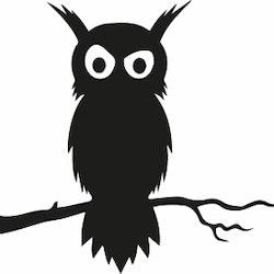 1340 - Uggla på en gren