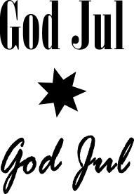2443 - God Jul 2 olika mini