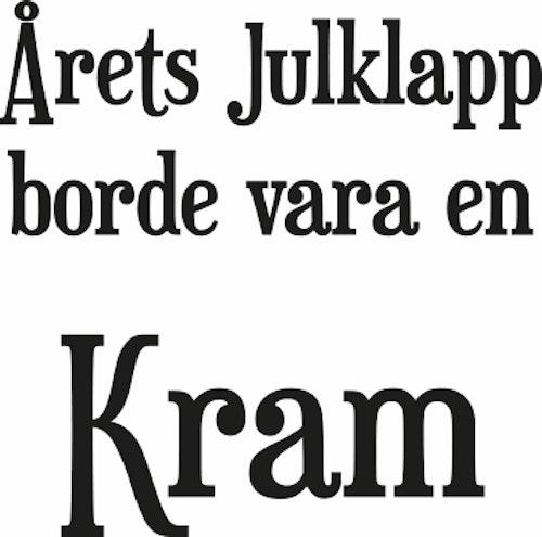 2450 - Årets Julklapp Kram