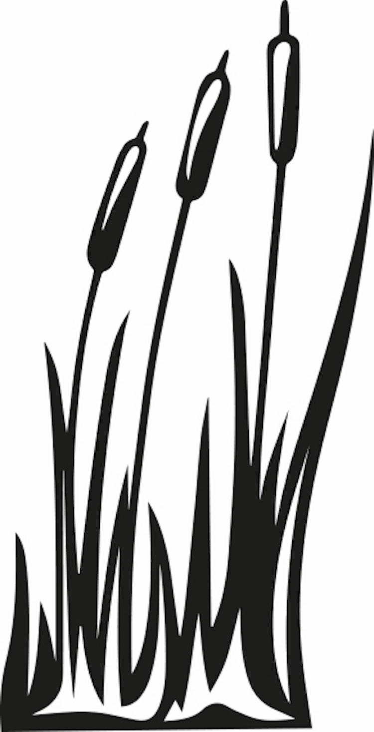 1429-GummistämpelVäxt enkel cigarr