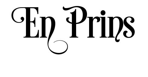 610 - Gummistämpel En Prins swirl