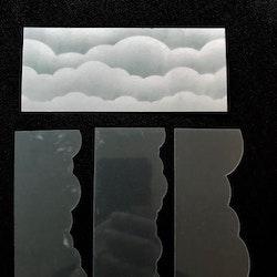 3212-Stencil Lazerdesign molnstencil 3 delar
