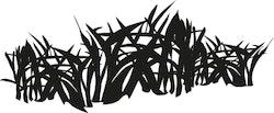 1521-Gummistämpel  minis gräs