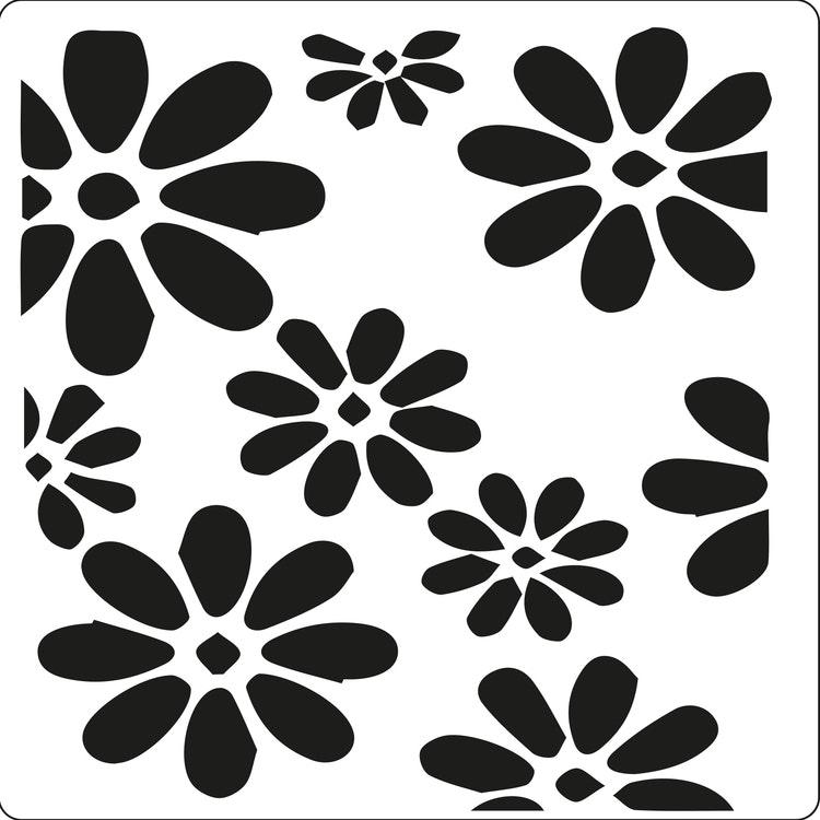 3216 - Stencil Lazerdesign Blommor