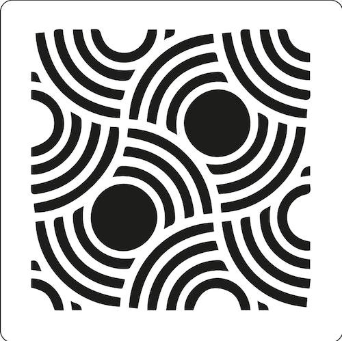 3202 - Stencil  halvsvirlar