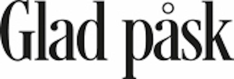 1658 - Gummistämpel Glad Påsk minis