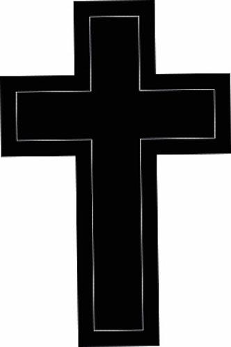 616 - Gummistämpel konfirmation Enkelt Kors
