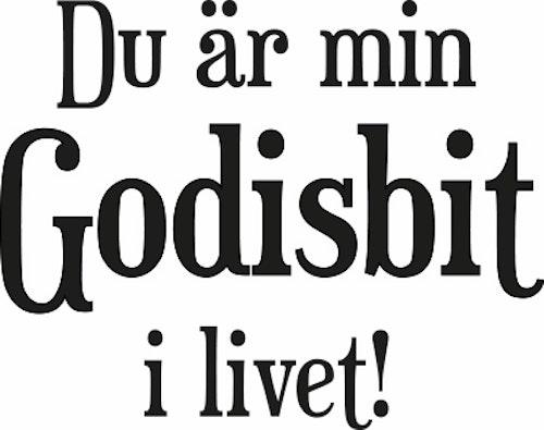 867-Gummistämpel Du är min Godisbit...