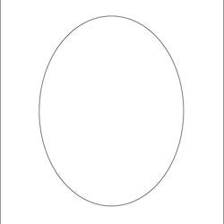 3230-Stencil  oval  schablon 14x14 cm
