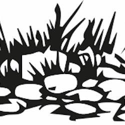 14122-Gummistämpel Stenkulle