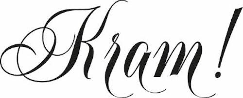 1812-Gummistämpel Kram!