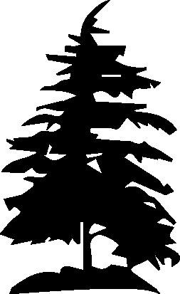 572- Gummistämpel Träd